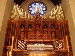Casavant Op. 2000 at Marsh Chapel