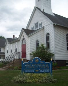 Zion Lutheran Church, Manchester, CT